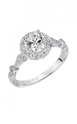 Artcarved CRYSTAL Engagement Ring 31-V518ERW-E product image
