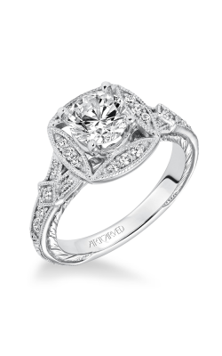 ArtCarved Vintage Engagement Ring 31-V629ERW-E product image