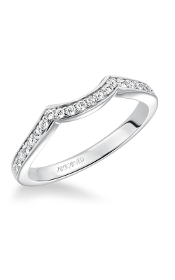 ArtCarved Contemporary Wedding band 31-V593W-L product image