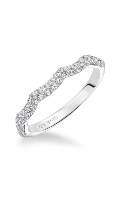 ArtCarved Contemporary Wedding Band 31-V595W-L product image