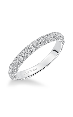 ArtCarved Contemporary Wedding Band 31-V605W-L product image