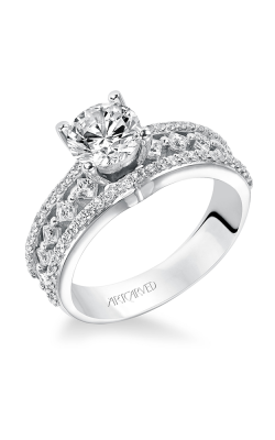 ArtCarved Contemporary Engagement ring 31-V208ERW-E product image