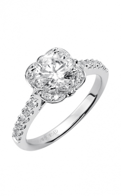 ArtCarved Contemporary Engagement ring 31-V342ERW-E product image