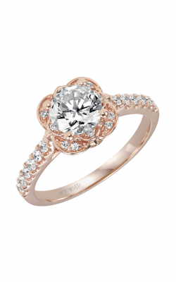 ArtCarved Contemporary Engagement ring 31-V342ERR-E product image