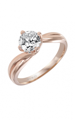 Artcarved WHITNEY Engagement Ring Rose Gold 31-V303ERR-E product image
