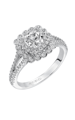ArtCarved Contemporary Engagement Ring 31-V564EUW-E product image
