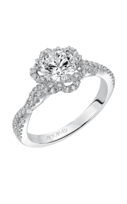 Artcarved MONIQUE Halo Engagement Ring 31-V566ERW-E product image