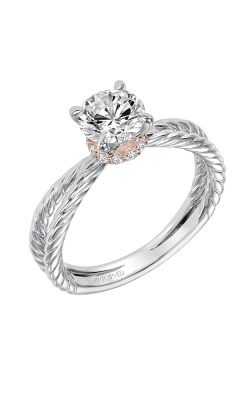 ArtCarved Contemporary Engagement ring 31-V569ERR-E product image