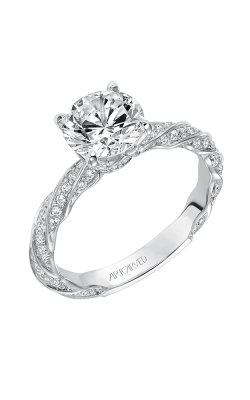 ArtCarved Contemporary Engagement ring 31-V577GRW-E product image