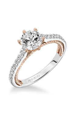 ArtCarved Contemporary Engagement ring 31-V588FRR-E product image