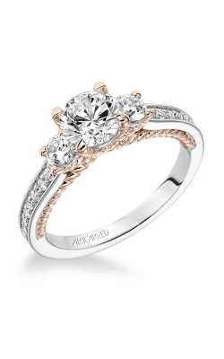 ArtCarved Contemporary Engagement Ring 31-V591ERR-E product image