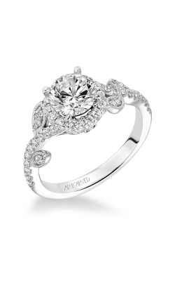 ArtCarved Contemporary Engagement Ring 31-V600ERW-E product image