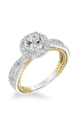 ArtCarved Contemporary Engagement Ring 31-V655ERA-E product image