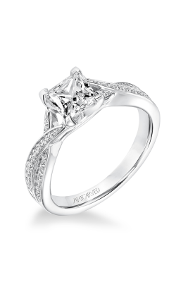 ArtCarved Contemporary Engagement ring 31-V656ECW-E product image