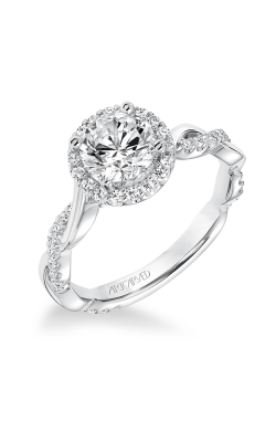 ArtCarved Contemporary Engagement Ring 31-V657ERW-E product image