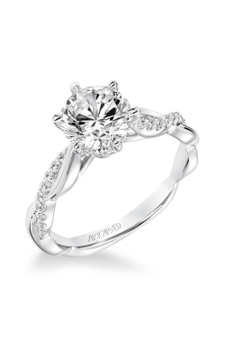 ArtCarved Engagement Ring Contemporary 31-V659GRW-E product image