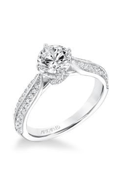 ArtCarved Classic Engagement Ring 31-V661ERW-E product image