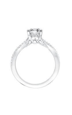 ArtCarved Contemporary Engagement Ring 31-V671ECW-E product image