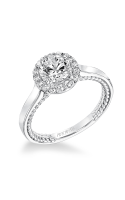 ArtCarved Contemporary Engagement Ring 31-V673ERW-E product image