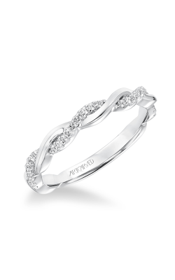 ArtCarved Contemporary Wedding Band 31-V657W-L product image