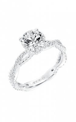 ArtCarved Contemporary Engagement Ring 31-V697GRW-E product image
