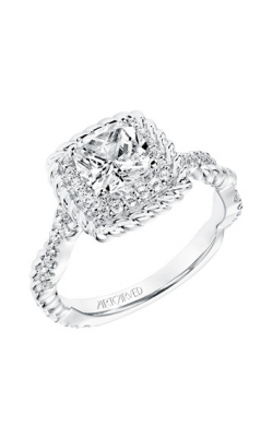 ArtCarved Contemporary Engagement ring 31-V700EUW-E product image