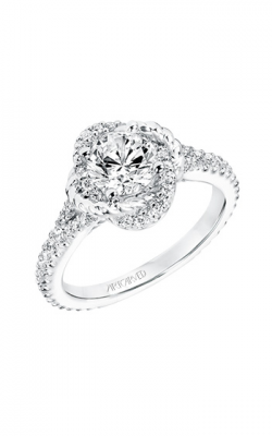 ArtCarved Engagement Ring Contemporary 31-V702ERW-E product image