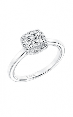 ArtCarved Contemporary Engagement Ring 31-V709EUW-E product image