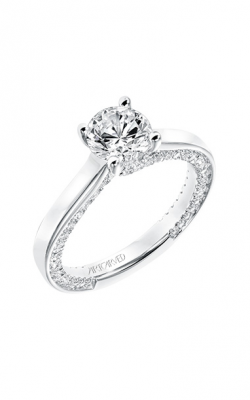 ArtCarved Contemporary Engagement ring 31-V714ERW-E product image