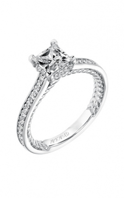 ArtCarved Contemporary Engagement Ring 31-V674ECW-E product image
