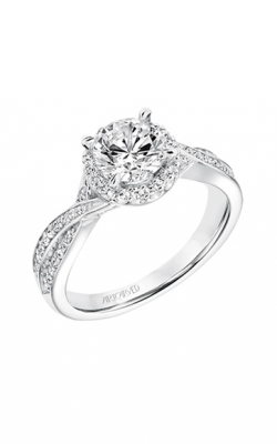 ArtCarved Contemporary Engagement ring 31-V685ERW-E product image