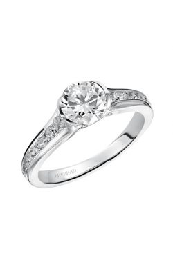 ArtCarved Contemporary Engagement Ring 31-V385ERW-E product image
