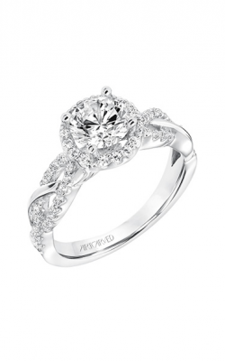 ArtCarved Contemporary Engagement Ring 31-V682ERW-E product image
