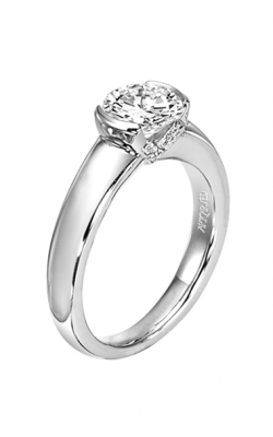 ArtCarved Contemporary Engagement Ring 31-V163ERW-E product image