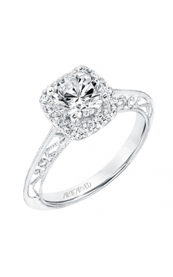 ArtCarved Vintage Engagement ring 31-V725ERW-E product image