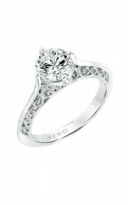 ArtCarved Vintage Engagement ring 31-V720GRW-E product image