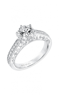 ArtCarved Vintage Engagement ring 31-V724GRW-E product image