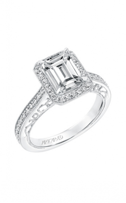 ArtCarved Vintage Engagement Ring 31-V728GEW-E product image