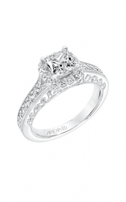 ArtCarved Vintage Engagement ring 31-V730ECW-E product image