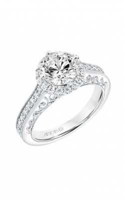 ArtCarved Vintage Engagement Ring 31-V731GRW-E product image