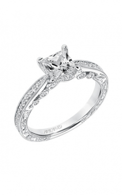 ArtCarved Vintage Engagement ring 31-V683ECW-E product image
