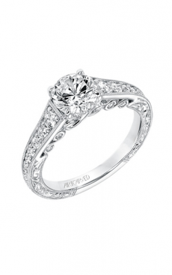 ArtCarved Vintage Engagement Ring 31-V691ERW-E product image