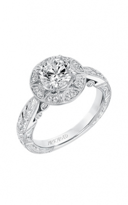 ArtCarved Engagement Ring Vintage 31-V695ERW-E product image