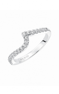 ArtCarved Contemporary Wedding band 31-V597ERW-L product image