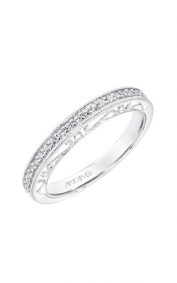 ArtCarved Vintage Wedding Band 31-V727W-L product image