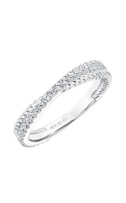 ArtCarved Contemporary Wedding Band 33-V9189W-L product image