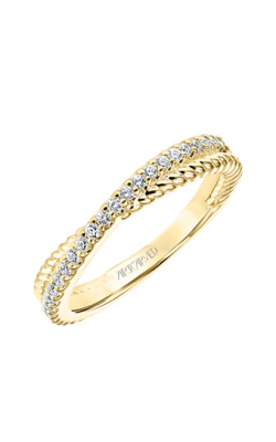 ArtCarved Contemporary Wedding Band 33-V9189Y-L product image