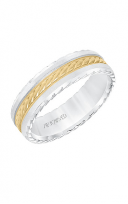 ArtCarved Wedding Band Engraved 11-WV8640WY65-G product image