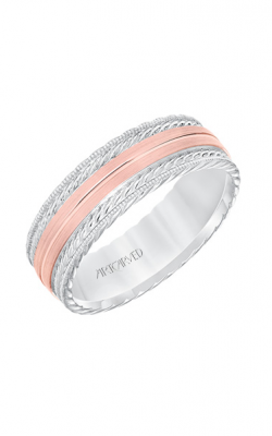 ArtCarved Wedding Band Engraved 11-WV8641WR7-G product image