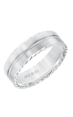 Artcarved Men's Engraved Wedding Band 11-WV8643W65-G